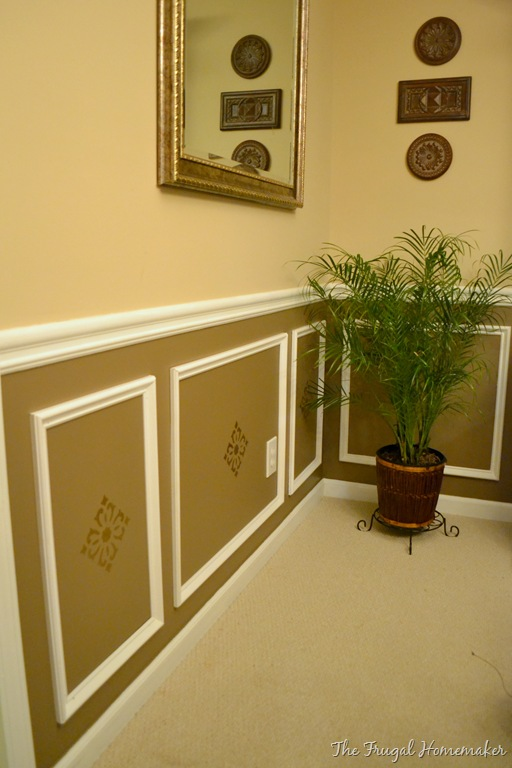 Day 17 Add Some Wainscoting To Your Home