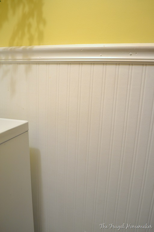 Day 17–Add some wainscoting to your