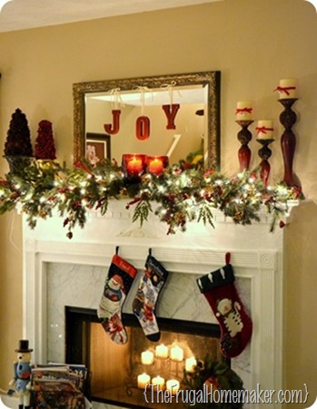 5 days of Christmas inspiration: Merry Mantels