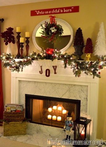 Mantel Christmas Trees