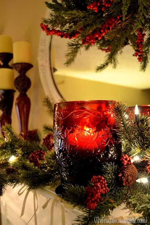 a christmas mantel a new christmas craft - Christmas Blogs