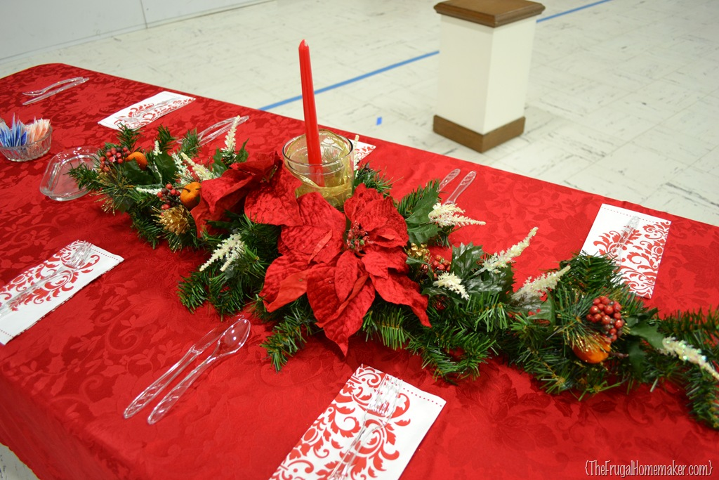 Christmas Dinner Table Ideas from Our Churchs