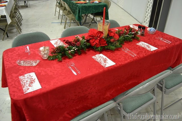 Christmas Plaid Table Runner