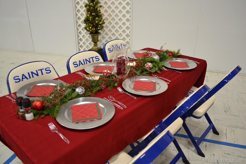 Christmas Dinner Table Ideas From Our Church S Christmas