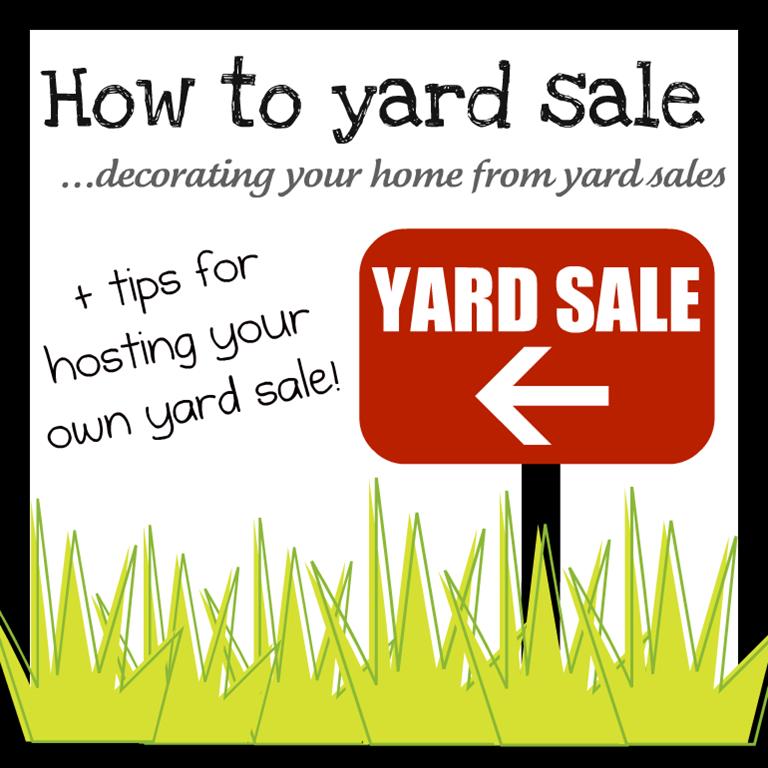 sales, estate sales, multi-family yard sales, parking lot yard sales