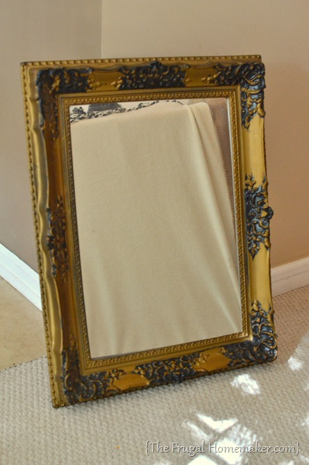 $2 yard sale mirror