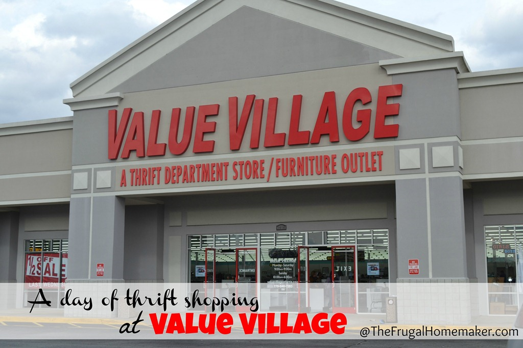 A tour of one of my favorite thrift stores–Value Village