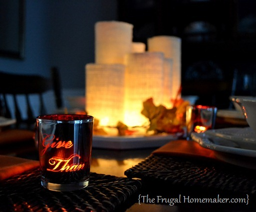 fall table - 20 things I love about fall