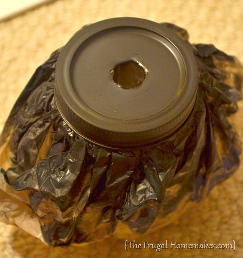 DIY Mason jar soap dispensers