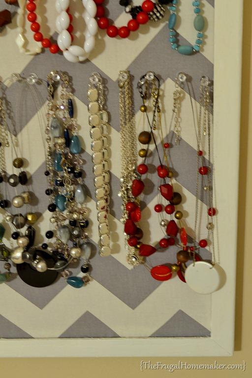 DIY Jewelry Organizer day 15 of 31