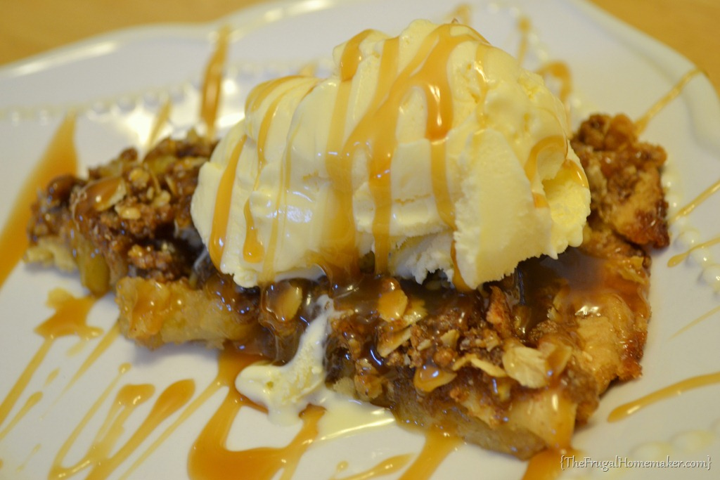 and red wine caramel sauce pear cinnamon crisp with vanilla ice cream ...