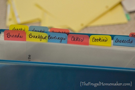 Organize your Recipes