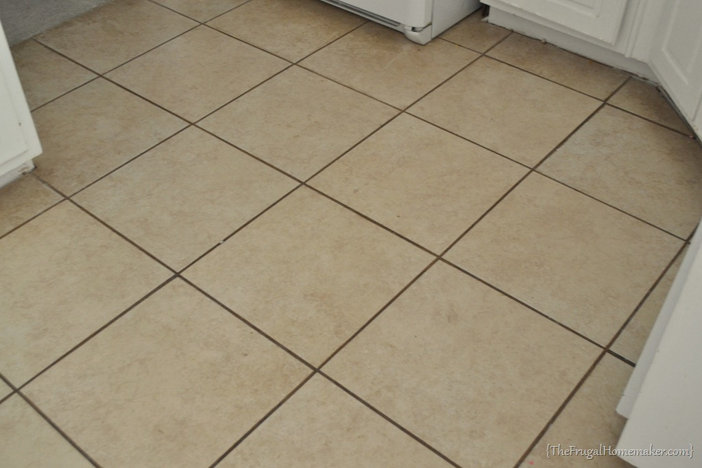 Grout Renew. Before Applying The Grout Renew To The Floor I Used A ...
