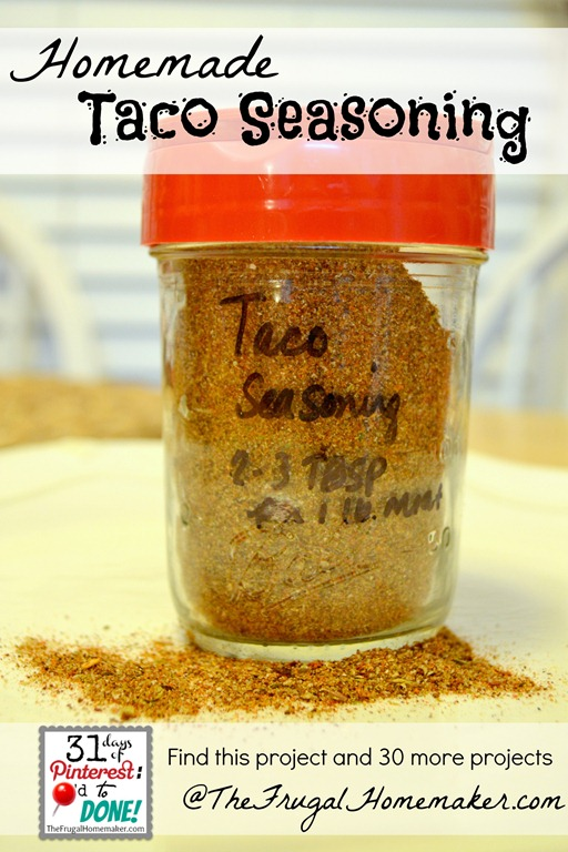 Homemade Taco Seasoning Mix Recipes — Dishmaps