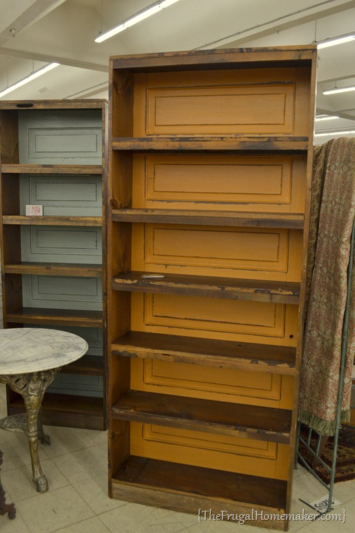 Shopping at scott antique market - Cabinet made from old doors ...