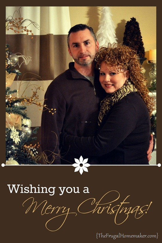 Christmas card without names