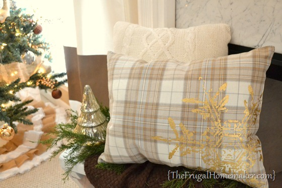 DIY Placemat pillow tutorial