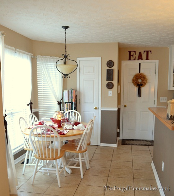 House tour: eat in kitchen