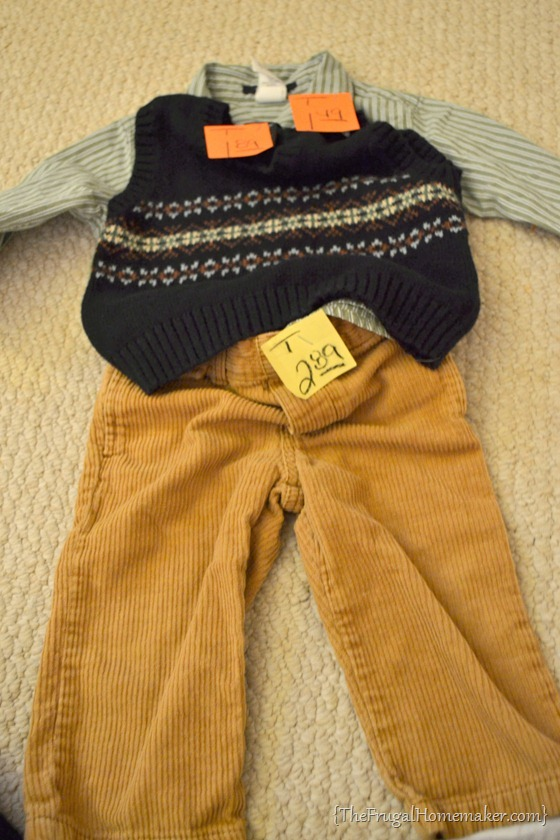 Gap/Old Navy outfit for boys