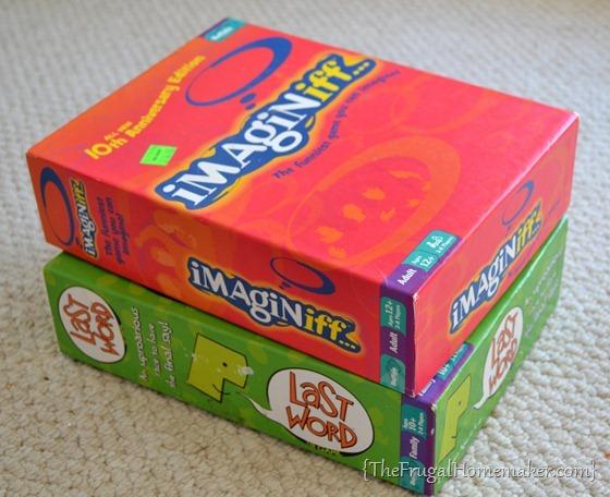 Imaginiff board game