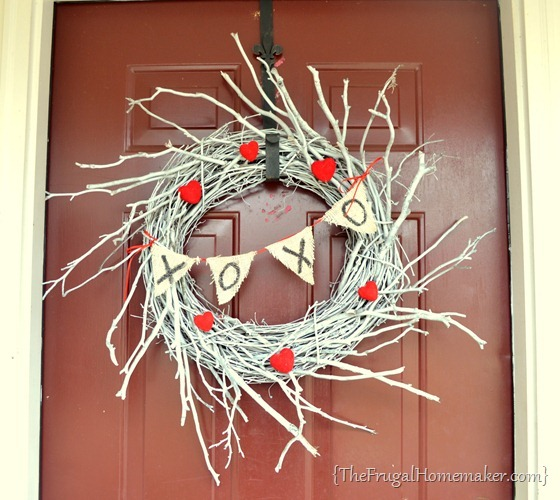 Winter White Valentine's Wreath