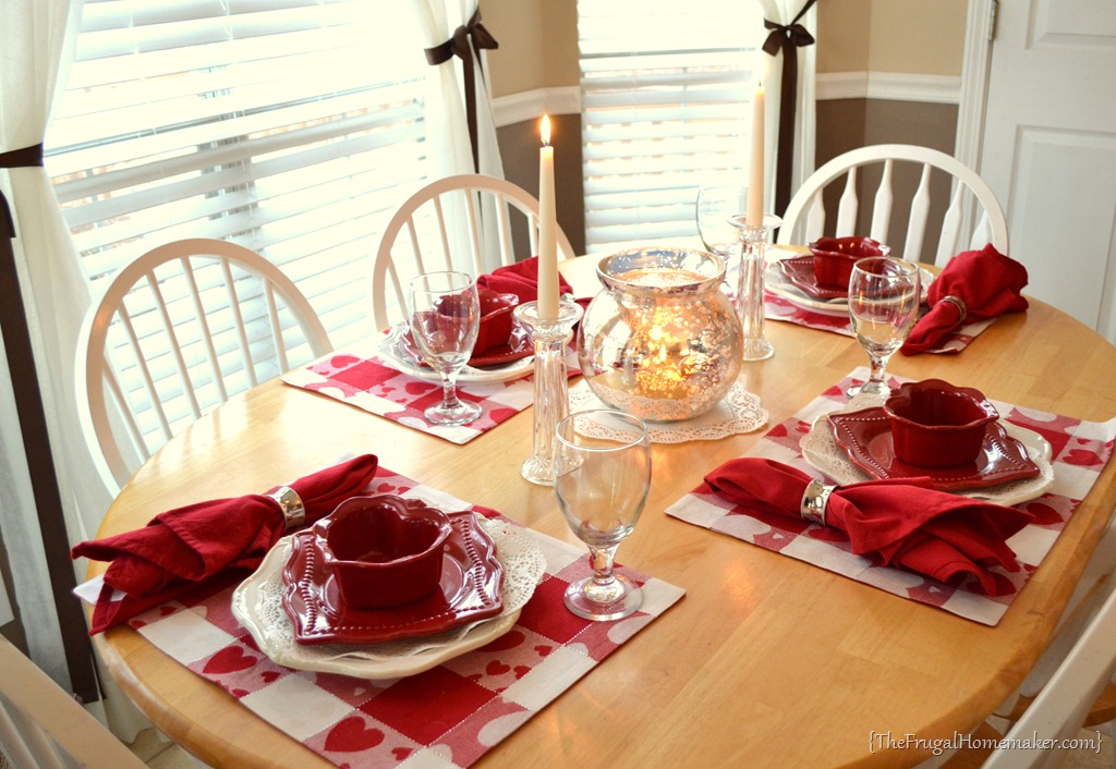 Valentineu0027s Day Tablescape