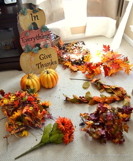 Friday Frugal Finds: lots of fall decor