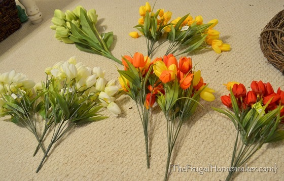 Tulip Spring Wreath