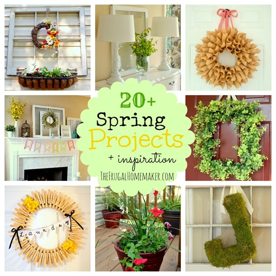 20+ Spring projects (lots of Spring inspiration!)