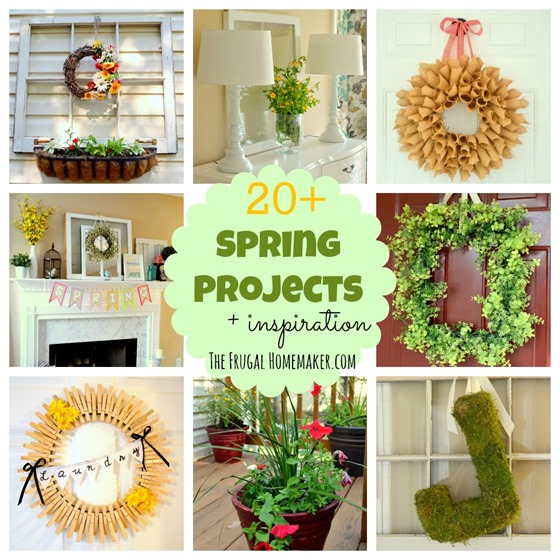 20  Spring project inspiration