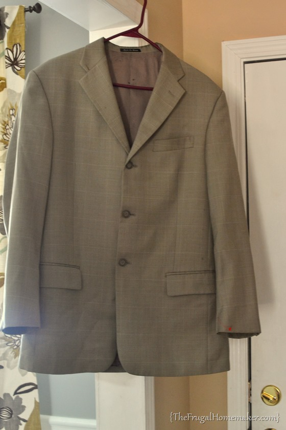 thrift store suit