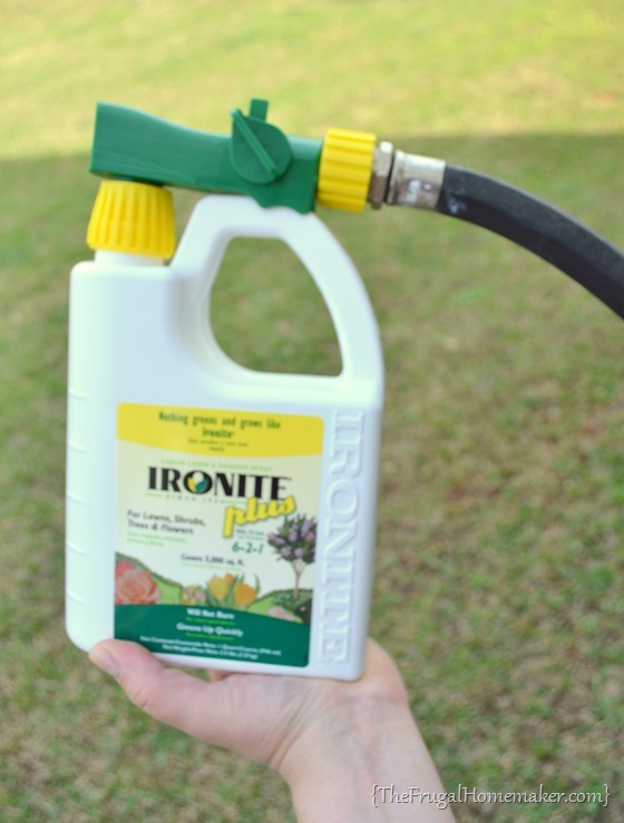 Ironite Plus Yard and Garden spray
