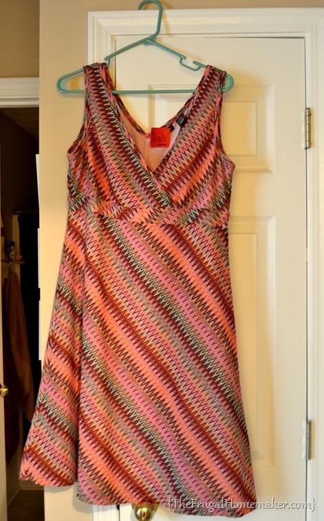 thrift store dress