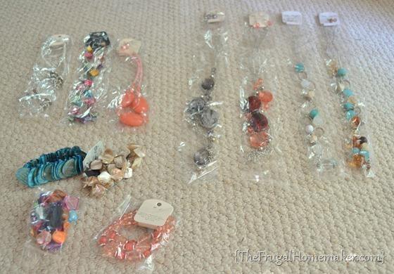 yard sale jewelry