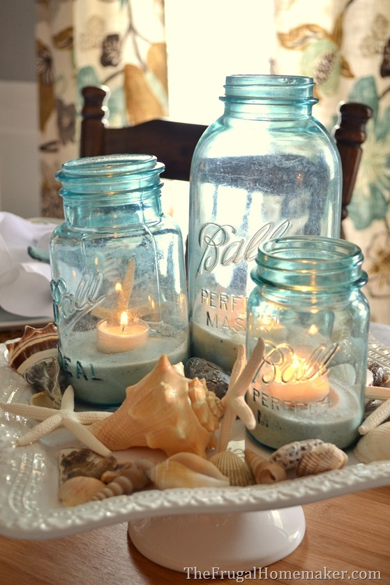 Beach-inspired tablescape with Better Homes and Gardens new ...