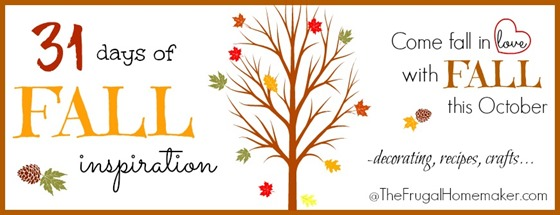 31 days of fall inspiration - fall in love with fall