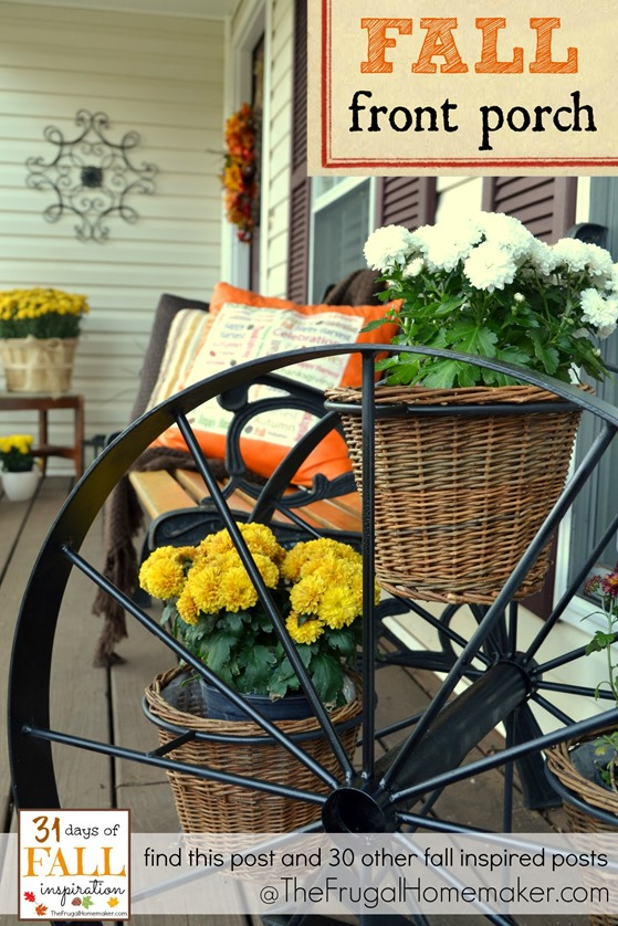 31 Days of Fall Inspiration: Fall Front Porch