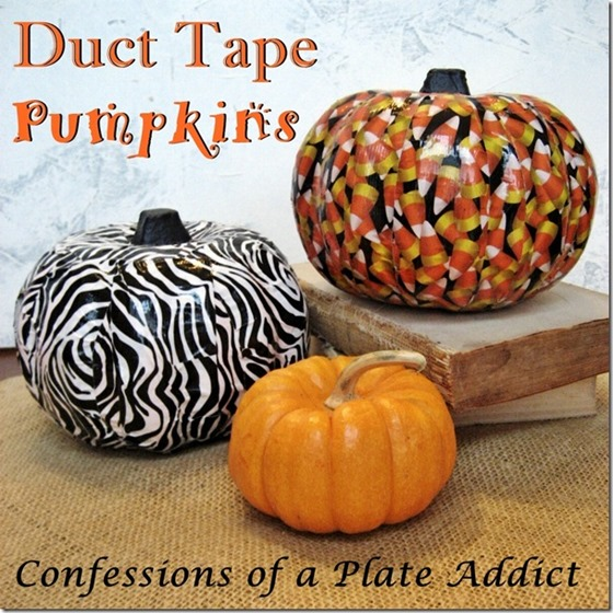 CONFESSIONS OF A PLATE ADDICT Duct Tape Pumpkins_thumb[9]
