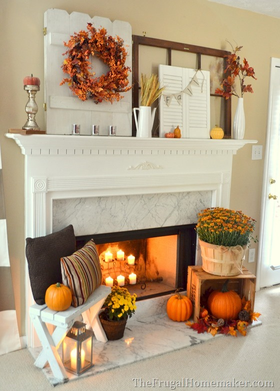 31 Days Of Fall Inspiration Mantel