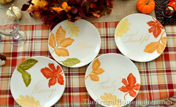 31 Days of Fall Inspiration Fall table with Better Homes and