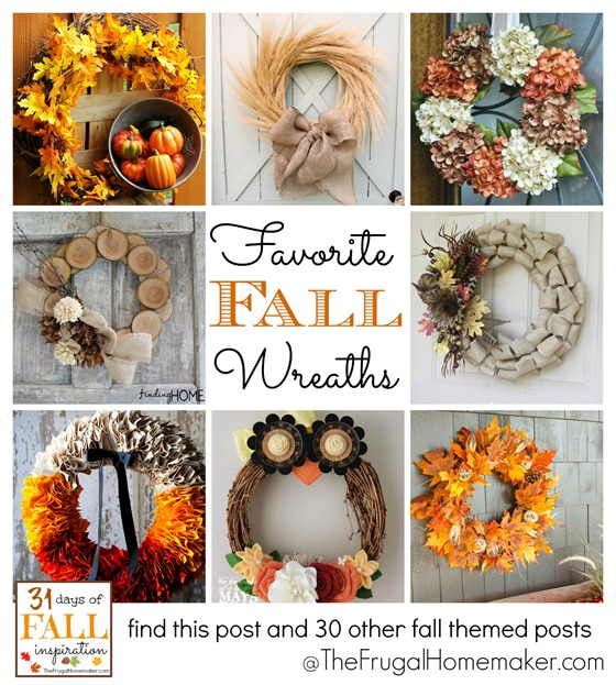 31 Days of Fall Inspiration: Favorite Fall Wreaths
