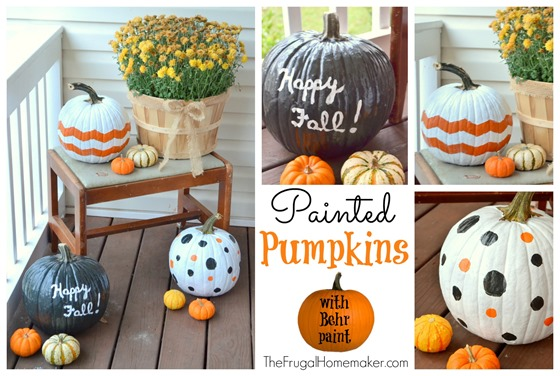 31 Days of Fall Inspiration: Painted Pumpkins
