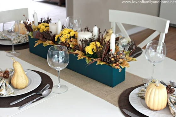 Teal & Yellow Fall Tablescape 113 edited