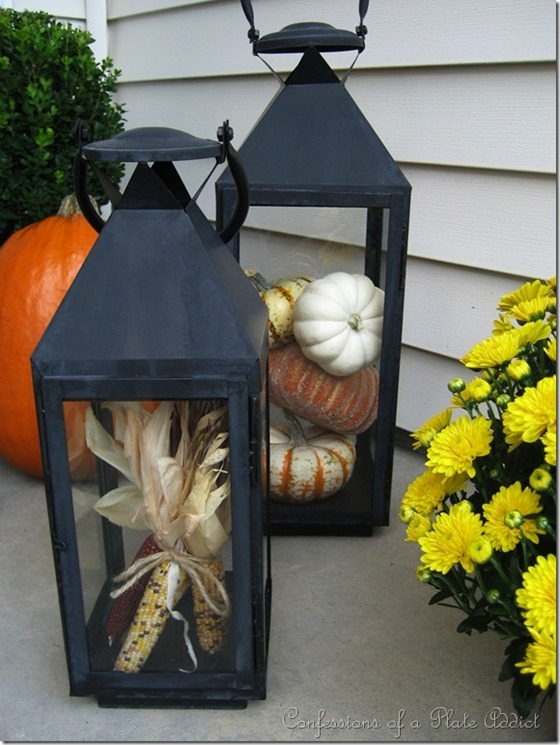 corn in lantern