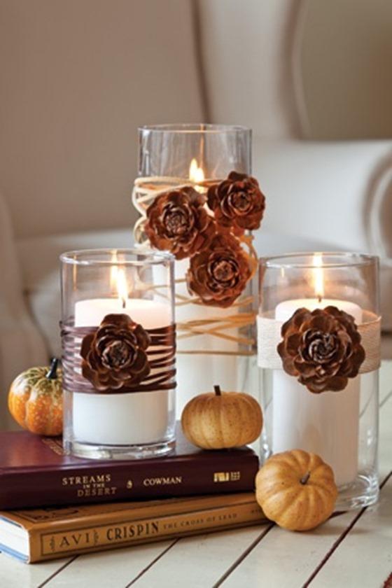 pinecone rosettes
