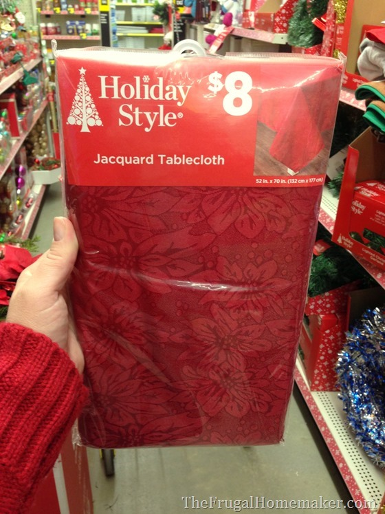 shopping at Dollar General for the holidays