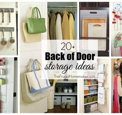 20+ Back of Door Storage Ideas