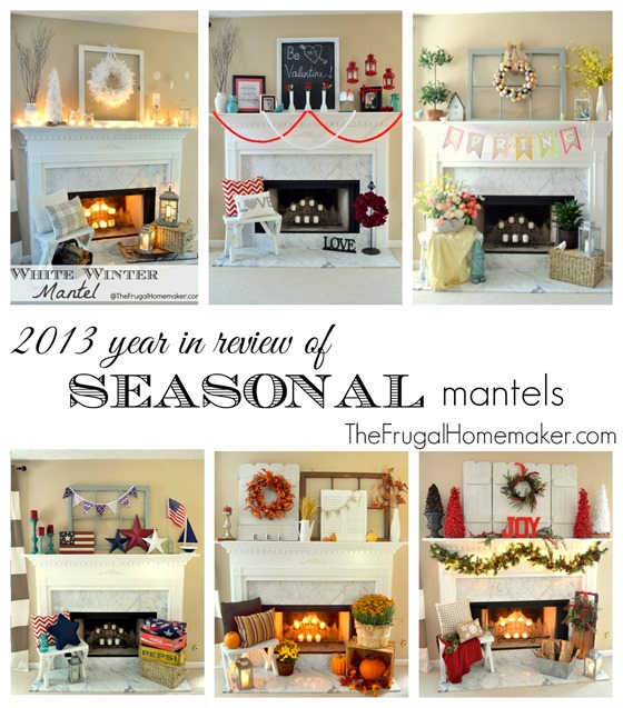 2013 year in review of Seasonal Mantels