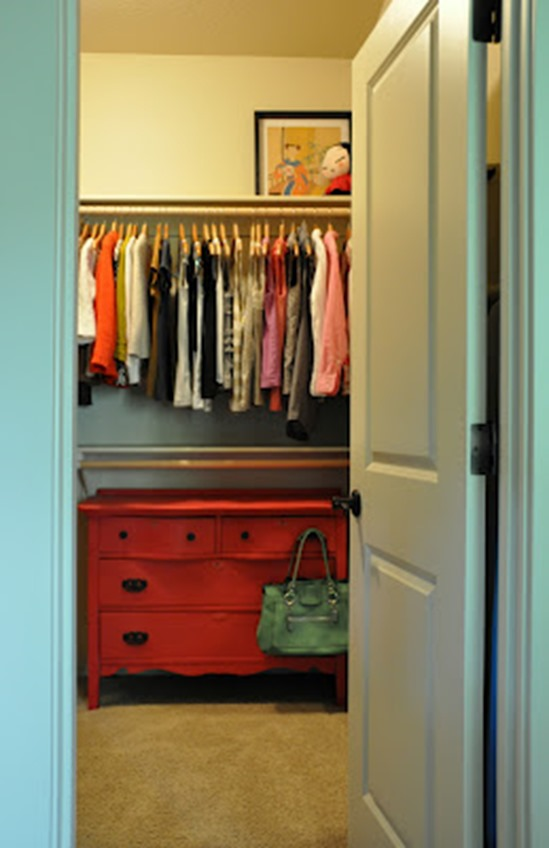 add dresser to closet