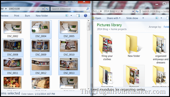 How to organize digital photos using folders on your computer